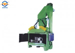Shot blast cleaning machine for Irons and steel foundries and forges