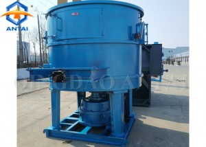 S14 series Rotor type sand mixer for foundry sand reclamation line