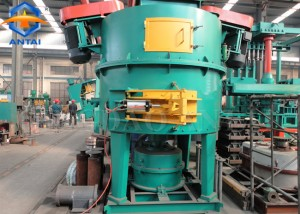 High efficiency Rotor type green sand mixer for foundry clay sand line