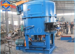 Foundry usage Rotor type sand mixer machine