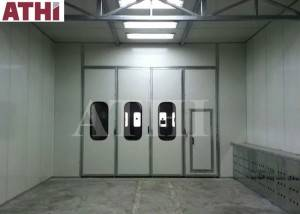 Manual type spray painting booth for car  truck body big parts