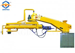 S28 series mobile lifting double-arm resin sand mixer