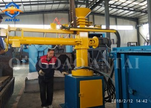 S24 series Single arm resin sand mixer for foundry resin sand line