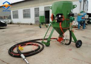 Dry portable mini type Steel shot abrasive sand blaster sand blasting pot