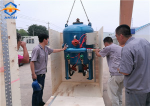 factory low price Aluminum Shot Blasting Machine -