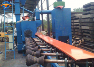 steel pipe outer&inner wall shot blasting machine