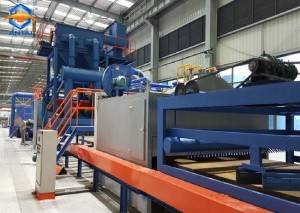 PLATE TUBE PROFILE PAINTING AND SHOT BLASTING SYSTEMS
