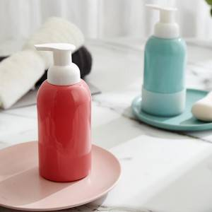 Foam hand sanitizer glass bottle