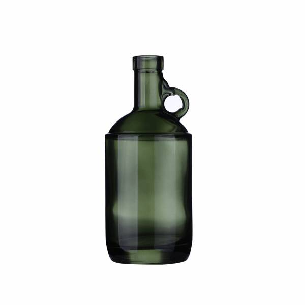 750ml Dark Green Glass Moonshine Liquor Jugs Featured Image