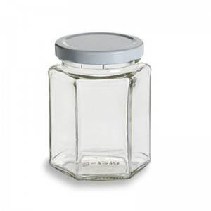 China New Product Glass Storage Jar 2000ml -