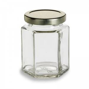 Hot sale Glass Jar With Bamboo Lid -