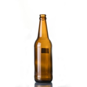 500ml amber long neck beer bottle