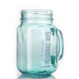 Deep Processing Glass Mason Jar