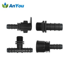 Drip Connectors for LDPE Tube
