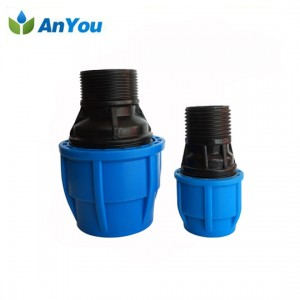 Good Wholesale Vendors Pe Lay Flat Hose - PE Compression Fittings – Anyou