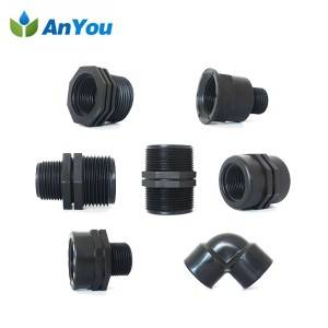 PP Connectors for Agricultural Irrigation