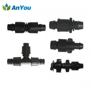 Good Quality Lay Flat Tube 50mm - Lock Connectors for Drip Tape – Anyou
