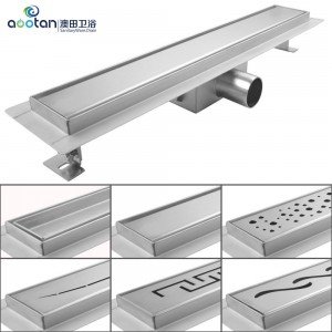 Factory source cast iron shower drain -