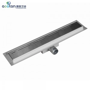 Factory wholesale ss 304 chrome floor drain -