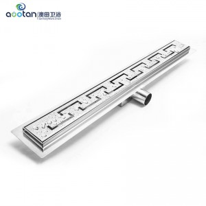 OEM/ODM Supplier Chrome Floor Drainer -