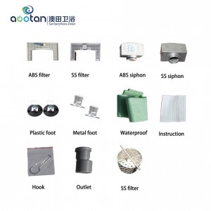 Europe style for Square Floor Drain Ss304 -