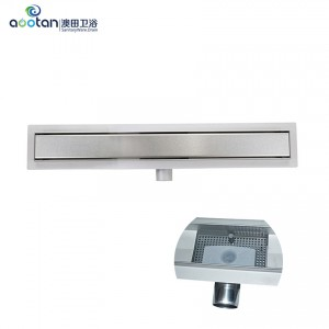 Well-designed Corner Floor Drainer -