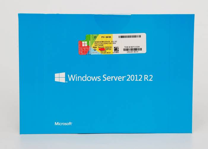 Echte Upgrade Windows Server Standard 2012 R2 standaard OEM Software License