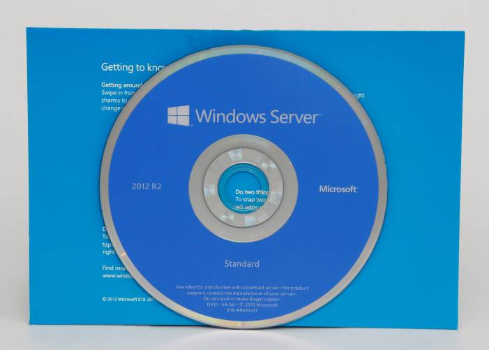 Microsoft Windows Server 2012 R2 OEM 64 Bit 5 CAL Engelsk Full versjon
