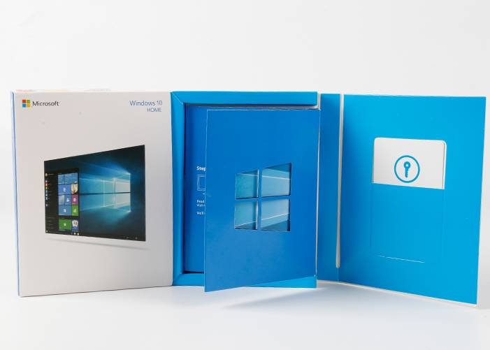 Windows 10 Home Retail box(1 keycard+1USB)