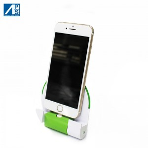 Mobile phone charger iPhone Charging Station Andorid Mobile Phone Charging Stand Foldable European Plug Organizer Holder USB Wall Charger Docking Station for Smartphone with detachable 2000mAh battery AC Adapter
