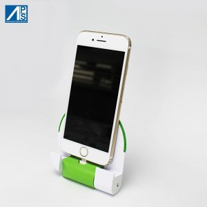 USB C charger Docking charge Station with 2000mAh Battery Foldable EU plug charger Wall Adapter Smart Charging stand mobile phone charger AC adatper quick charge
