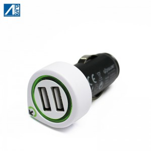 Dual USB Car Charger quick charge 3.1A Mobile phone car charger Rapid Car Charger with Smart IC Car Charger Adapter Compactable with Any iPhone/Galaxy  USB Charger