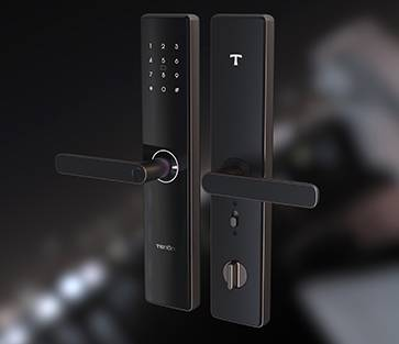 E15 Smart Lever Lock| Acrylic Touchscreen Smart Residential Lock
