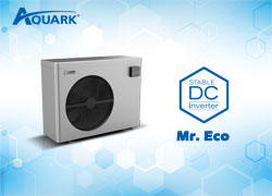 Mr. Eco, the Extremely Stable DC Inverter Pool Heat Pump