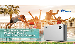 Mr. Silence Inverter Pool Heat Pumps Soon Sold Out In Europe