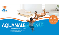 Aquanale 2019 in Cologne Germany Got Everything for Private, Hotel and Public Pools