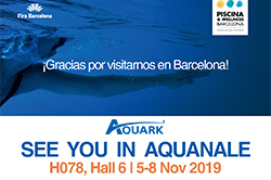 Aquark Brings Dreaming Silence to Piscina & Wellness Barcelona 2019