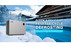 Aquark Inverter Pool Heat Pump, A Good Helper in Quick & Efficient Defrosting