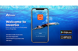 Aquark InverGo App to Smart Control Your Inverter Pool Heat Pump