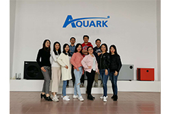 Aquark Organized A Ien-day Technical Training for Sales Team