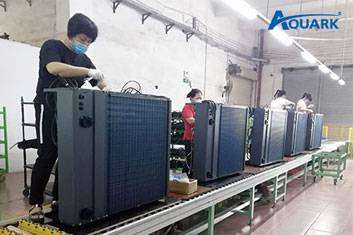Aquark InverPad Heat Pumps Speed Up Production for Rising Demand in Europe During COVID-19