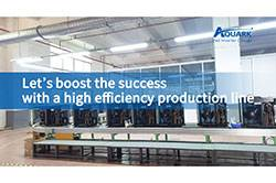 Aquark Released a New Production Line to Enhance Manufacturing Capacity