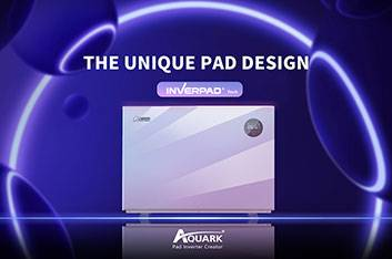 Pad Design of Aquark's Inverter Pool Heat Pump