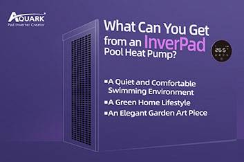 What Can You Get from an InverPad® Pool Heat Pump?