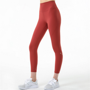 Hot Selling Customized Color Yoga Wear Activewear Lacer Cut Leggings