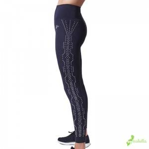 Full length workout leggings fitness legging with stud detail
