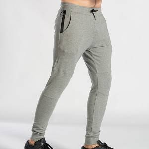 China Wholesale 2019 Fashionable Oem Clothing White 100% Cotton Men Jogger Pant's