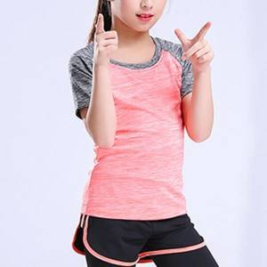 GIRL'S  SHORT SLEEVE T12