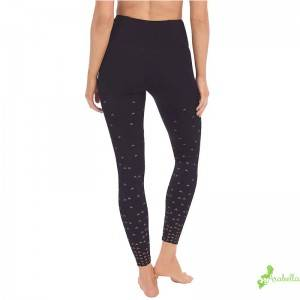 Full legnth active leggings workout pants with pockets