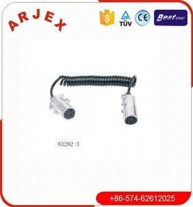 83292-3 7P metal plug with spring cable